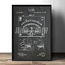現代簡約裝飾畫黑灰色木框畫設計平面圖工具圖LOFT工作室掛畫廠房