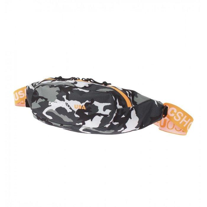 [CABAS滑板店] DC BASTILLE BAG 迷彩 │腰包 側背包 防潑水