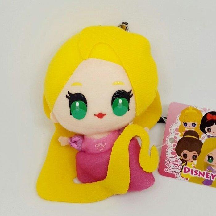 【UNIPRO】 魔髮奇緣 樂佩 3.5mm 手機 平板 Q版 絨毛防塵塞 吊飾 玩偶 日貨 迪士尼公主 長髮公主