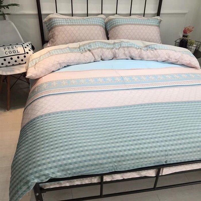 【Little Bed 小床】天絲/柔滑/典雅【39AF002】雙人加大床包(6*6.2)四件組