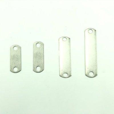 現貨【joburly】120mm(個)不鏽鋼  白鐵 ST 雙孔 門片 土地公 扁鐵角 鋼釘腳 壁虎腳 微吸 厚度2mm
