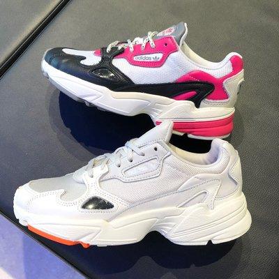 【吉米.tw】Adidas 老爹鞋 Originals Falcon 厚底 灰白EE5118 黑EG9926 SEP a