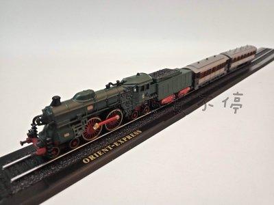 現貨 袖珍經典蒸汽火車套裝 東方快車Orient Express 1/220 火車模型 實物拍攝