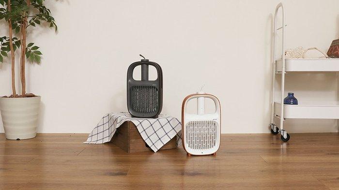 日本 簡約造型 plusmore 2way 電蚊拍+捕蚊燈器
