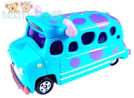*Miki日本小舖*日本東京迪士尼限定 Tomy Tomica 怪獸大學 毛怪 巴士/小汽車