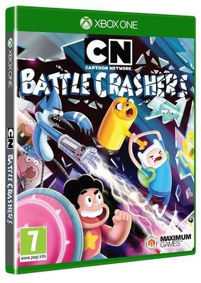 全新未拆 XBOX ONE 卡通頻道大亂鬥 -英文版- Cartoon Network Battle Crashers