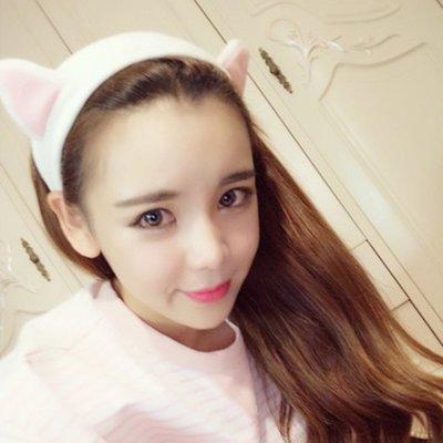 貓耳朵髮帶髮箍 韓版超可愛束髮帶髮飾【庫奇小舖】【H6】