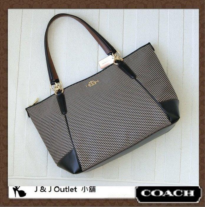[JJ Outlet 小舖精選, 現貨在台]全新Coach 28467 大款肩背包/托特包可放A4(附購証)
