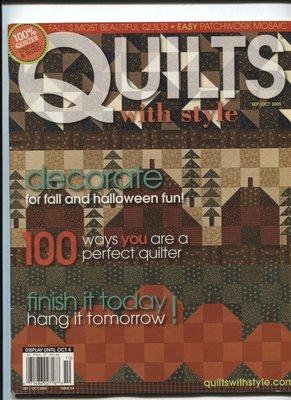 紅蘿蔔工作坊/美國拼布手工藝書=QUILTS with style 書中圖形(2005.10月