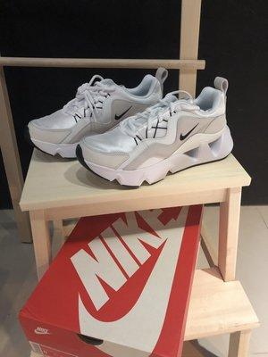 【吉米.tw】現貨 Nike RYZ 365 孫芸芸白色 女鞋 運動休閒鞋 增高 厚底 鋸齒 BQ4153