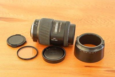 Minolta AF 100-300mm / f4.5-5.6 APO變焦鏡頭清倉廉售 (年終特價)