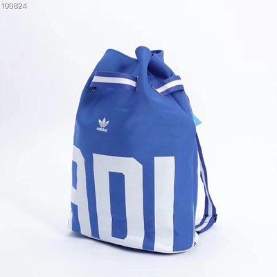 四色可選Adidas 手拎兩用揹包!水桶抽繩包!男女情侶款!