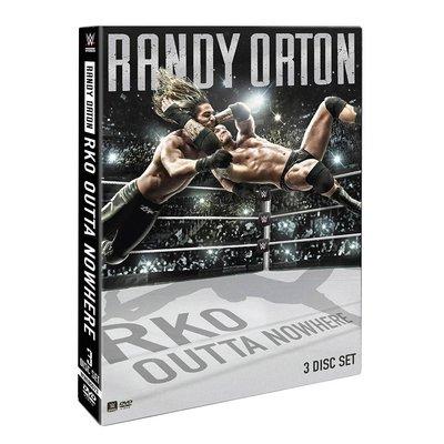 ☆阿Su倉庫☆WWE摔角 Randy Orton RKO Outta Nowhere DVD 毒蛇2016最新個人專輯