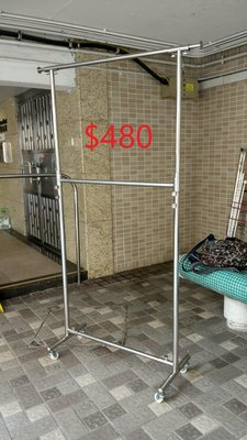 民生公司 Man Sang: 3-feet Stainless Steel Clothes Rack - Double Decks  3呎雙層不銹鋼掛衣架