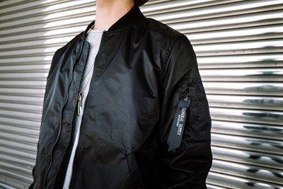 ☆LimeLight☆ RockSteady MA-1 飛行夾克 素面 黑色 S M L XL