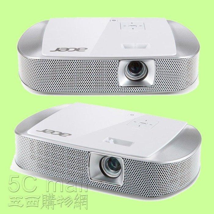 5Cgo【權宇】陸版ACER宏碁LED微型3D投影機K137 100吋/HDMI/MHL/D-Sub/SD/DLP 含稅