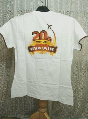 M號長榮航空EVA AIR 20週年紀念 短袖T恤