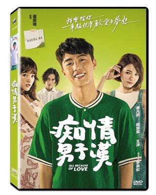 [影音雜貨店] 台聖出品 – 痴情男子漢 DVD – 由蔡凡熙、韓笙笙、王淨主演 – 全新正版
