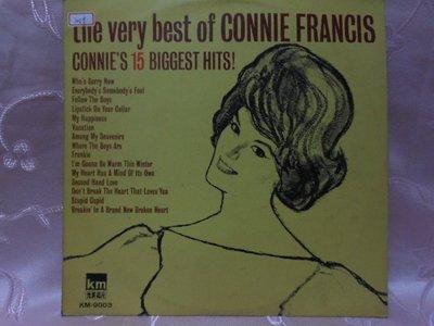 【采葳音樂網】-西洋黑膠–康妮法藍西斯〝CONNIE FRANCIE 15 BIGGEST HITS〞249