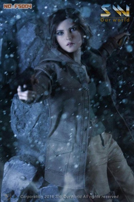 全新 SW Ourworld 1/6 古墓奇兵 崛起 Rise of The Tomb Raider 蘿拉