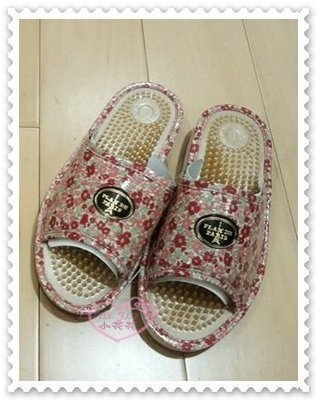 小花花日本精品♥ Hello Kitty 健康按摩拖鞋 室內拖鞋 按摩拖鞋 居家拖鞋 玫瑰花 L號 粉色99938406