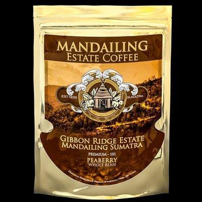 蘇門答臘 黃金公豆咖啡豆 Sumatra Mandheling PREMIUM Peaberry(單品咖啡Single Oringin)