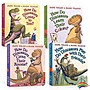 家有恐龍系列 How Do Dinosaurs Pocket Library 4冊盒裝clean their room/count to ten吳敏蘭繪本 幼兒