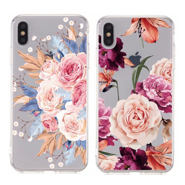 蘋果 iPhone12 Pro Max iPhone12 Mini iPhone11 SE 2020 花卉透底殼