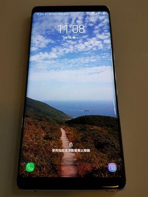 Samsung Galaxy note 8  128G 太空灰