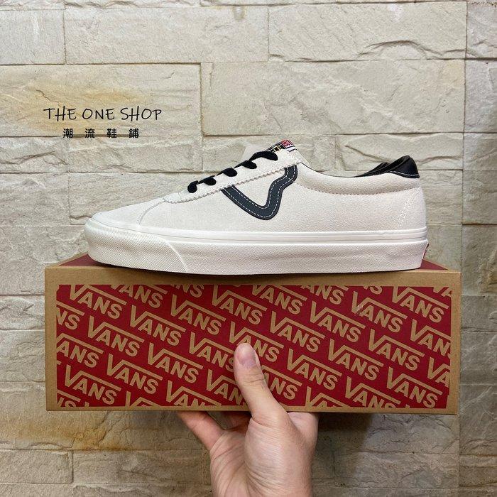 VANS Epoch V Style 73 DX 余文樂 米白色 白色 米色 麂皮 復古 帆布鞋 VN0A3WLQTIP