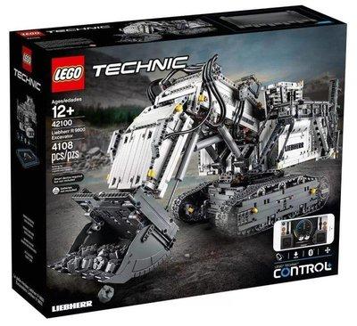 LEGO 樂高 42100 (樂高熊) 科技系列 Liebherr R 9800 Excavator 全新未拆 保證正版
