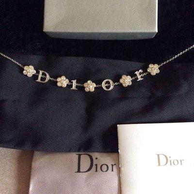 Dior水鑽項鏈