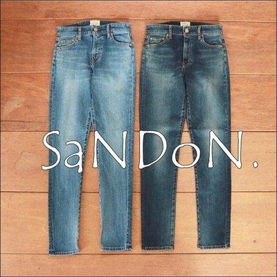 SaNDoN x『UNGRID』2018春季新作 實拍正規品彈性超級好高腰丹寧牛仔SKINNY和身牛仔褲 180515