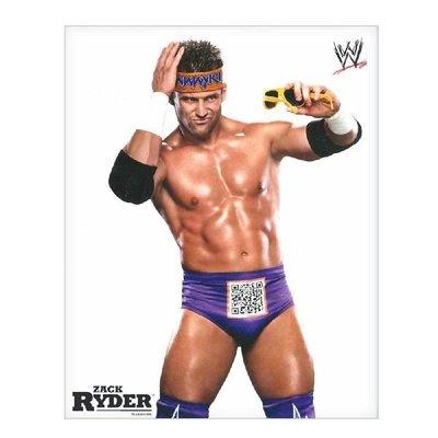 ☆阿Su倉庫☆WWE摔角 WWE 8x10 PHOTO Zack Ryder 巨星珍藏照片 熱賣特價中