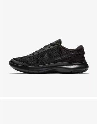 D-BOX  NIKE FLEX EXPERIENCE RN 7 黑色 網布 輕量 跑步鞋