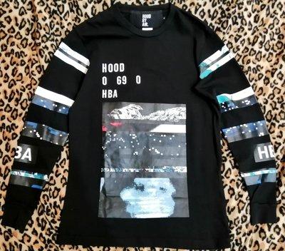 HBA hood by air 美國 紐約 潮牌 黑色 星空 潮踢 衛衣