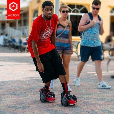 『格倫雅』電動鞋 ACTON阿克頓火箭鞋滑板車電動平衡車風火輪迷妳小型微型^25911