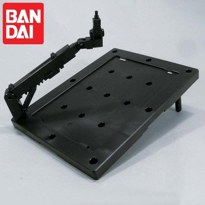 又敗家@日本萬代BANDAI鋼彈模型支架ACTION可動BASE 3比例1/144 HG SD BB鋼普拉底座陳列支撐架