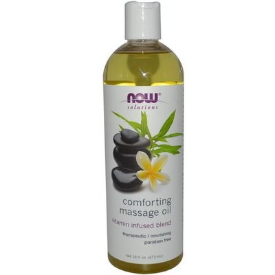 【蓋亞美舖】 Now Foods Comforting Massage Oil 保濕舒緩按摩油 473ml 美國進口