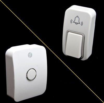 [三永] 加購 (不能單獨使用) 經典款 A01 接收機或發射機 不用電池 專利按壓發電 免電池 防水  無線電鈴