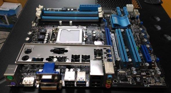 ☀瀚宇科技☀ ASUS i7主機板P8Q67-M DO/BM6660 附擋板 只要800元 保1個月