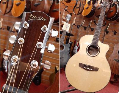 ♪♪學友樂器音響♪♪ Deviser LK-13 N 雲杉面板 民謠吉他 木吉他 40吋 GA桶