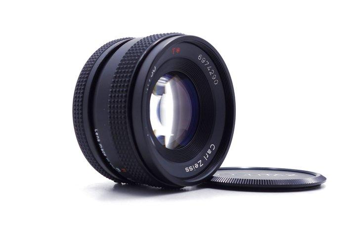 【台中青蘋果】Contax Planar 50mm f1.7 手動鏡 二手 單眼鏡頭 #19003