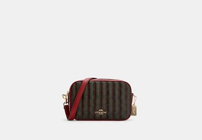 Coach  Jes Crossbody In Signature Canvas With Quilting