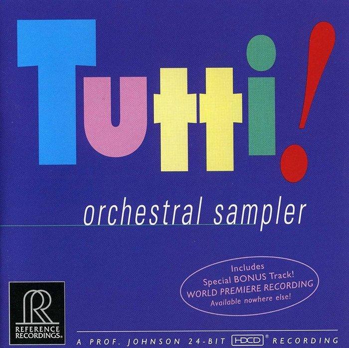 【店長推薦】 Tutti!全體齊奏!(HDCD)RR唱片最經典,音響必備測試片  --RR906CD