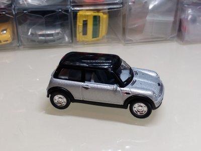 KiNSMART NEW MINI COOPER 1/56 銀包 合金回力車 中國製造