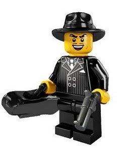 絕版品【LEGO 樂高】玩具 積木/ Minifigures人偶包系列: 5代 8805 單一人偶: 黑道老大 大哥