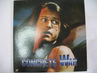 CONCRETE WAR 終極探長 - 1992年 LD 電影版 - 151元標               LD200