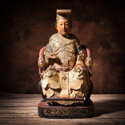 【奧山古美】木雕.天上聖母.媽祖.神像