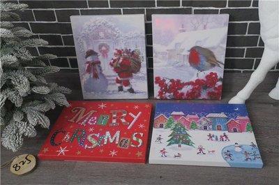 聖誕節裝飾品聖誕櫥窗居家貼畫用品聖誕墻紙貼畫帶燈效果櫥窗掛件